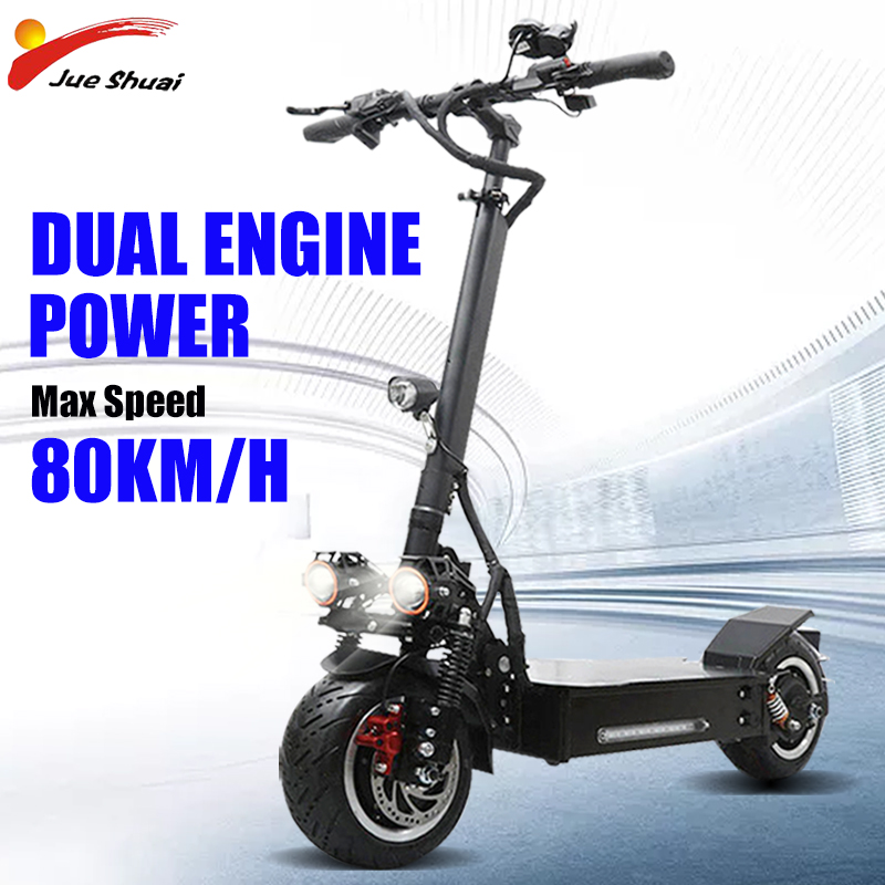 <font><b>60V</b></font> 3200W 11inch Electric Scooter 30A <font><b>Samsung</b></font> Lithium Battery big power 110KM Scooter Electric Aluminum Alloy Patinete Eletrico image