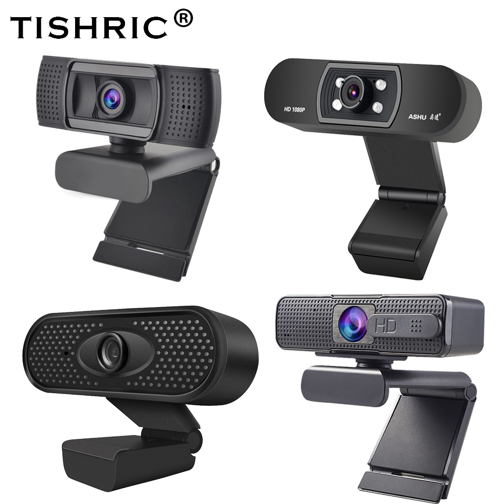 TISHRIC веб камера ASHU H800/H701/H601 USB 2,0 веб камера с микрофоном Full Hd веб камера 1080p Автофокус для ПК ноутбука видео|Веб-камеры|   | АлиЭкспресс