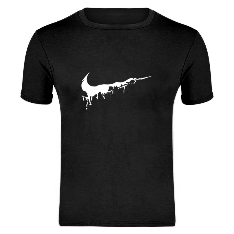 2019 New Hot Sale Just Color T Shirt Mens Black And White100% Cotton Summer T-shirts Summer Skateboard Tee Boy Skate Tshirt Tops