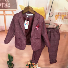 Baby Christmas Outfit 2019 Autumn Winter New Baby Boys Blazer Suits