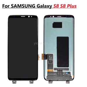 AMOLED Original For Samsung Galaxy S8 Display For S8 Plus G950 G950F G955fd G955F G955 Lcd Display With Frame With Black Spots
