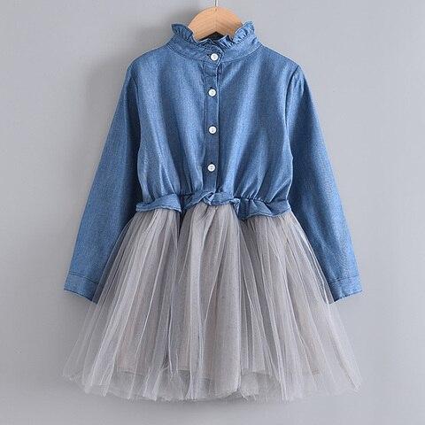 criancas roupas meninas vestido para 3 7y