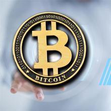 Цельнокроеное платье позолоченный Bitcoin набор памятных монет монеты виртуальная валюта
