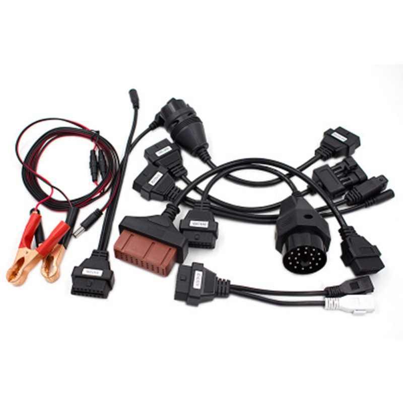 8 CHIẾC Xe Công Cụ Chẩn Đoán Cáp OBD2 Giao Diện Xe Chẩn Đoán Cáp và Đầu Nối Cho Delphi Cho Autocom CDP Pro