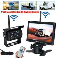 Lcd-Monitor-Kit Reverse-Camera Wireless Parking-Assistance-System Truck TFT HD Car Backup