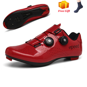 Professional Athletic Bicycle Shoes MTB Cycling Shoes Men Self-Locking Road Bike Shoes sapatilha ciclismo Women Cycling Sneakers 14