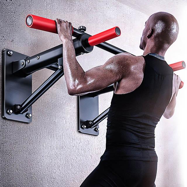 Indoor Folding Pull Up Bar Wall Horizontal Bars Gym Chin Up Bar ...