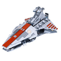 05042 Star Wars The Republic Fighting Cruiser Model Figure Blocks Construction Building Bricks Toys For Children