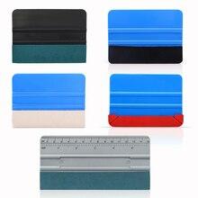 FOSHIO 5 stücke Verpackung Werkzeuge Vinyl Rakel Kein Kratzer Schaber Carbon Faser Film Aufkleber Installieren Auto Wrap Fenster Tönung Kit set