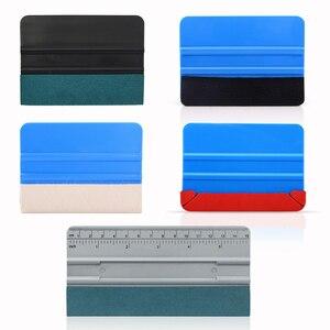 Image 1 - FOSHIO 5Pcs ห่อเครื่องมือไวนิลไม้กวาด No Scratch Scraper สติกเกอร์คาร์บอนไฟเบอร์ติดตั้ง Car Wrap หน้าต่าง Tinting Kit ชุด