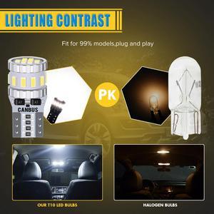 10x T10 W5W 168 194 светодиодный Canbus лампы парковочные фары автомобиля для Ford Mondeo MK3 MK4 Focus Fiesta Fusion Ranger C-max S-max Kuga F150