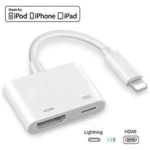 Splitter Screen-Converter Hdmi-Cable-Adapter iPad Apple Lightning To Digital iPhone 11