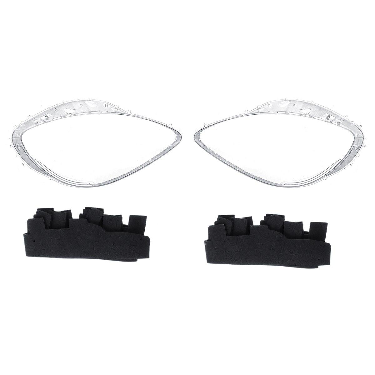 Een Paar Auto Koplamp Lens Koplamp Lenzen Cover Trim Vervangen + Pakkingen Kits Voor Chevrolet Voor Corvette C6 2005 2013 - 3