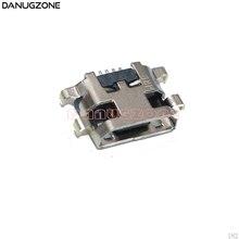 50 قطعة/الوحدة لسامسونج غالاكسي A10S A107F USB تهمة المقبس جاك ميناء التوصيل شحن حوض موصل