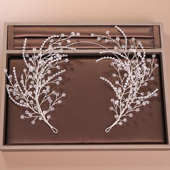 Ahmad Amin Exclusive link Handmade Bridal Hair Vine Headband Wedding Hair Accessories Comb Hair pins Hair Jewelry