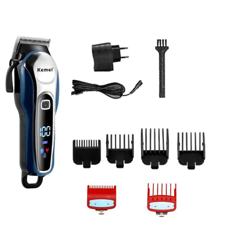Maquinilla de cortar el pelo de barbero TURBO, cortador profesional de pelo para hombres, cortador de barba eléctrico, corte de pelo Máquina para cortar cabello sin cable