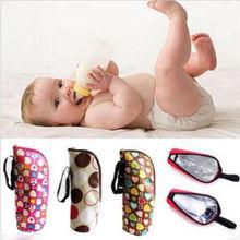 Baby Bottle Case Feeder Lagging Bag For Newborn Baby Keep Warm Infant Feeding Bottle Multi-Color Bag Case
