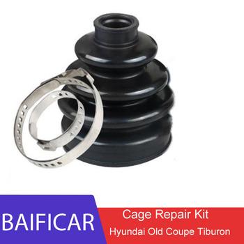 Baificar nowy wysokiej jakości 1 sztuk pół wału na zewnątrz i wewnątrz koszyk łożyska kulkowego zestaw naprawczy dla Hyundai Old Coupe Tiburon tanie i dobre opinie