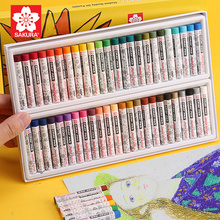 Oil Pastels Children's Creative Graffiti Crayons Pastels Pens Safe Non-toxic Oil Brush Colorful Painting Art School kid Supplies