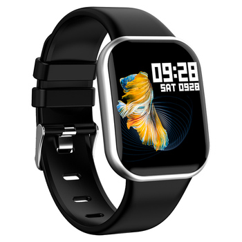 цена на Q8S Smart watch Alloy Case IP67 Waterproof Bluetooth Pedometer Heart Rate Monitor 2.5D Color Display SmartWatch For Android/IOS