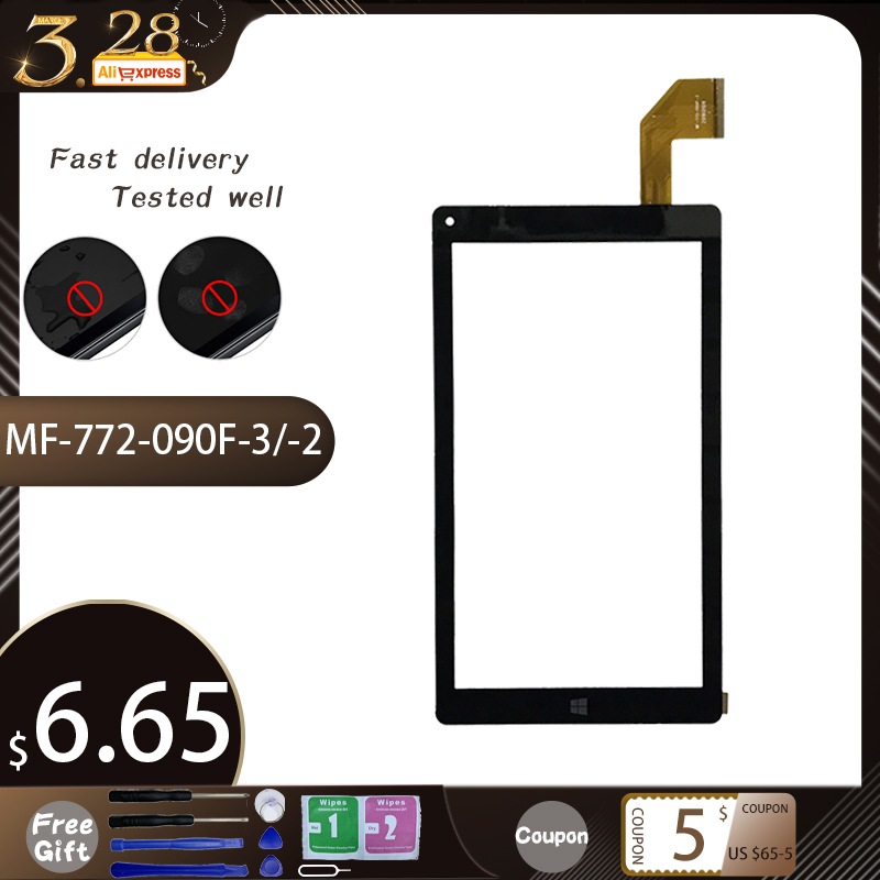 MF-772-090F-2/MF-772-090F-3 For Irbis TW36 Touch Screen Panel Digitizer Glass Sensor Replacement MF 772 090F 2 Free Shipping