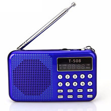 Portable Radio Support MP3 Music TF / SD Card LCD Display FM Radio For CD DVD Mobile Phone Notebook Computer hot sale