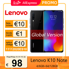 Global Version Lenovo K10 Note (Z6 Lite) Smartphone 6GB 128GB Snapdragon 710 6.3 inch Triple Cameras Mobile Phones 4050mAh