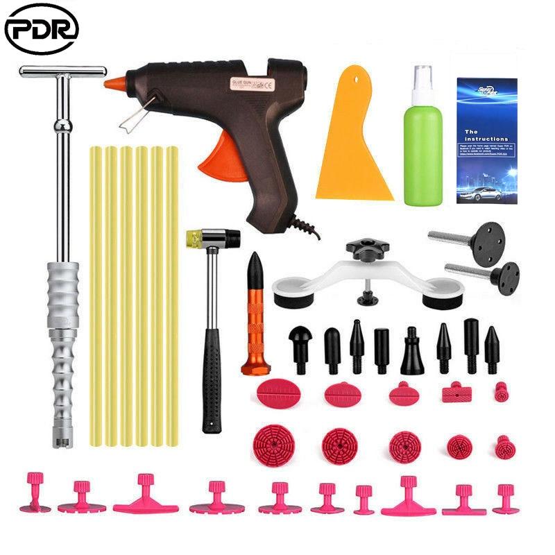 PDR įrankiai atvirkštinio plaktuko slydimo dažai be dažų dantų taisymo įrankiai Dentų pašalinimo automobilio kėbulo remonto rinkinys, skirtas pašalinti automobilių dantų krušos žalą