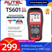 Autel MaxiTPMS TS601 أدوات إصلاح الإطارات سيارة ماسح ضوئي تشخيصي OBDII رمز قارئ تفعيل برمجة Mx الاستشعار تحديث مجاني