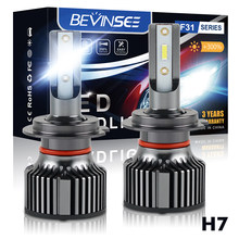 H7 Led H4 H7 H8 H9 H11 9005 9006 9012 6000LM 50W 6000K Car LED Headlights White Fog Lamps 9005 HB3 9006 HB4 Fog Light Bulbs