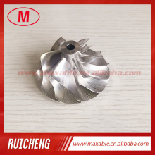 Compressor-Wheel RHF55 Turbo-Milling/aluminum 6 for 342726 NZI W175001 F55-22B 6-Blades