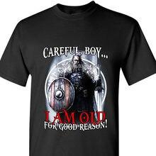 Vorsichtig, Junge .. ich Bin Alt Für Gute Grund! Lose Baumwolle T-shirts Für Männer Kühlen Tops T Shirts mantel kleidung tops