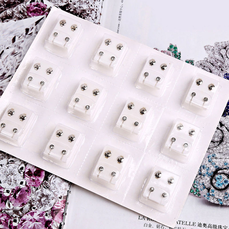 24pcs/set Stud Piercing Tool Kit Ear Earing For Piercing Gun Ear