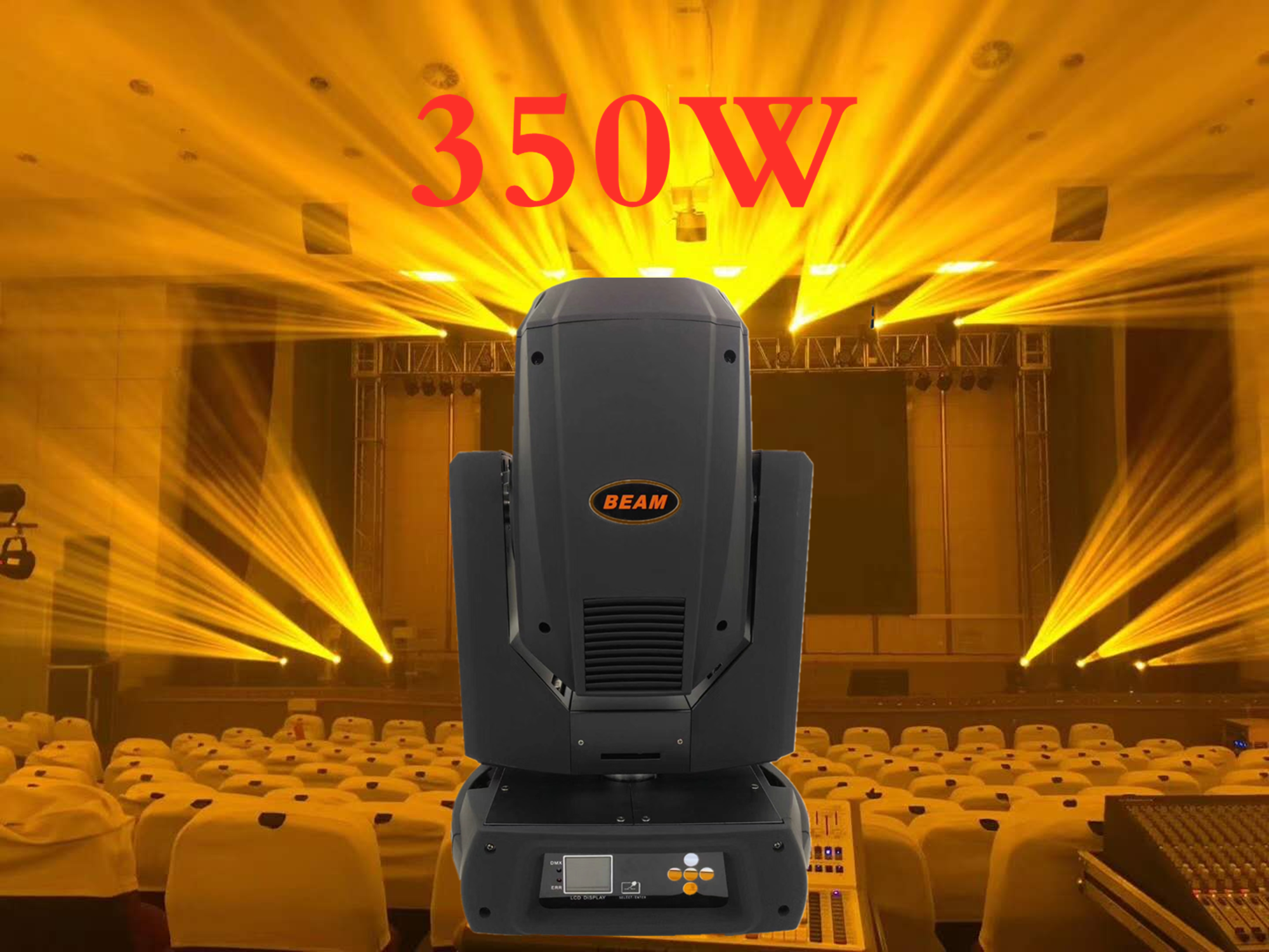 F&GSharpy Beam 350W 17R Moving Head Light Gobo/beam/wash/ Beam 350 Beam 17R Disco Lights For DJ Club Nightclub Party