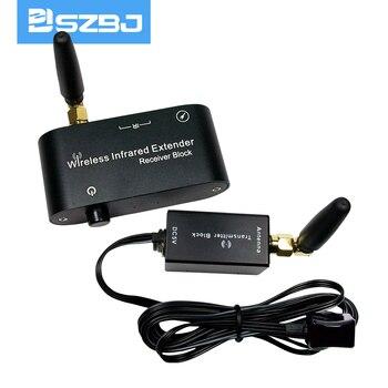 SZBJ WL-T2 беспроводной ИК-репитер комплект/пульт дистанционного управления расширитель сигнала высокой чувствительности беспроводной ИК-реп...