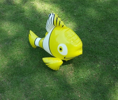Inflatable Fish Toy Beach Fish Stage Bar Activity Decoration Simulation Props Children Bathing Water Toys