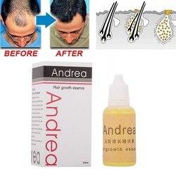 Andrea crescimento do cabelo óleo essência 100% natural planta extrato crescimento soro espessador cabelo perda de cuidados com o cabelo para o produto de cabelo líquido