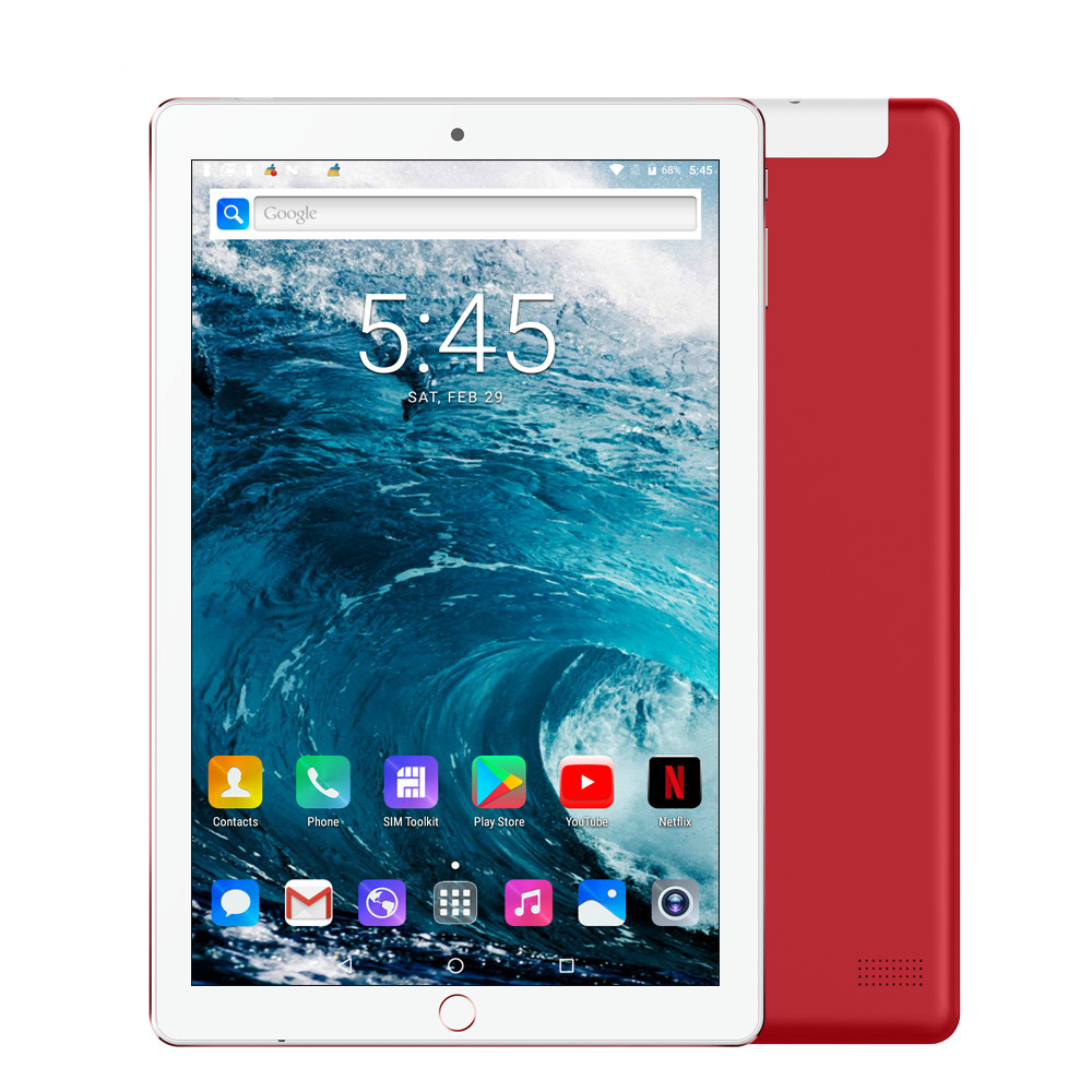 2020 New 10.1 Inch 6G+128GB Google Tablet Pc Android 9.0 Dual SIM 4G Phone Call GPS WiFi Bluetooth  Screen Tablets