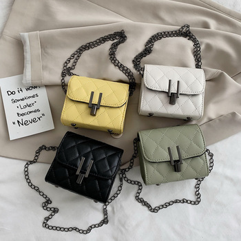 Mini small fragrance bag 2020 new foreign style texture messenger bag ins net red wild diamond chain bag cinnamon cider decorative fragrance 1 3lb bag