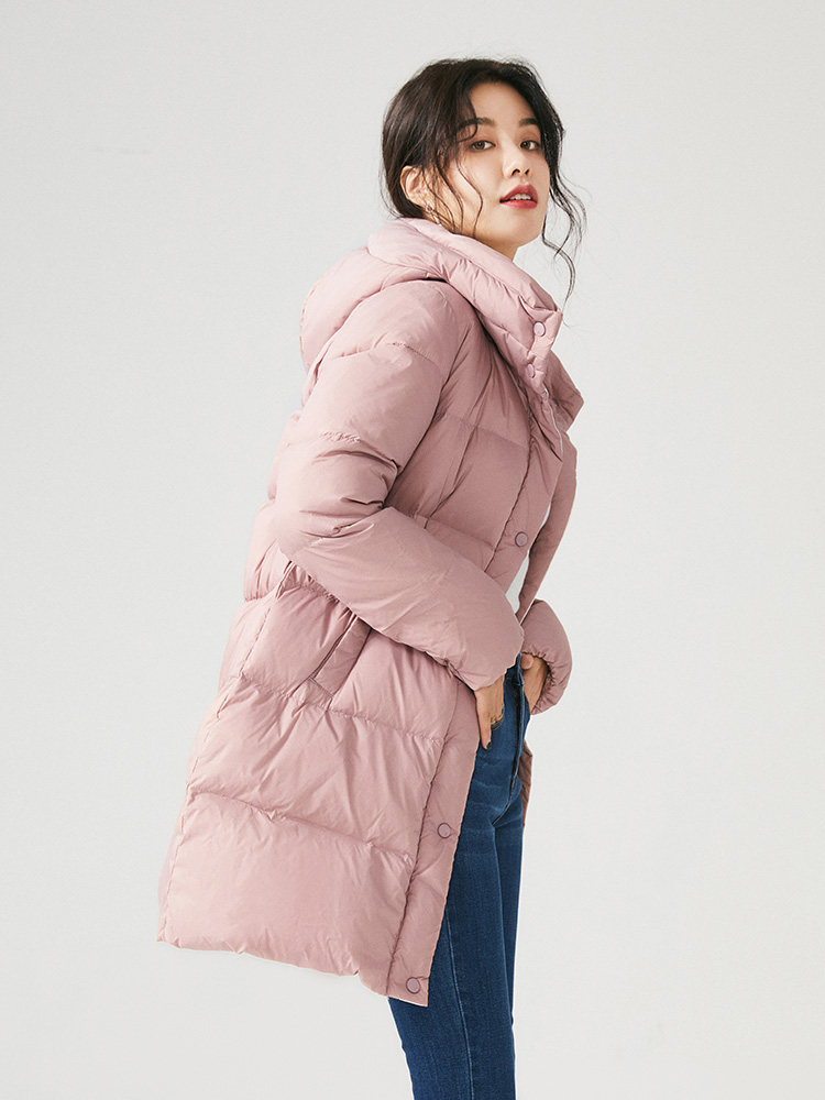 2019 the new fashion women's clothing hooded   down   jacket more female in long warm winter   down     coat