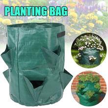 1Pc DIY Potato Grow Planter Bag Potato Grow Container Bag PE Fabrics Planting Vegetable Gardening Grow Tool Thicken Grow Bag