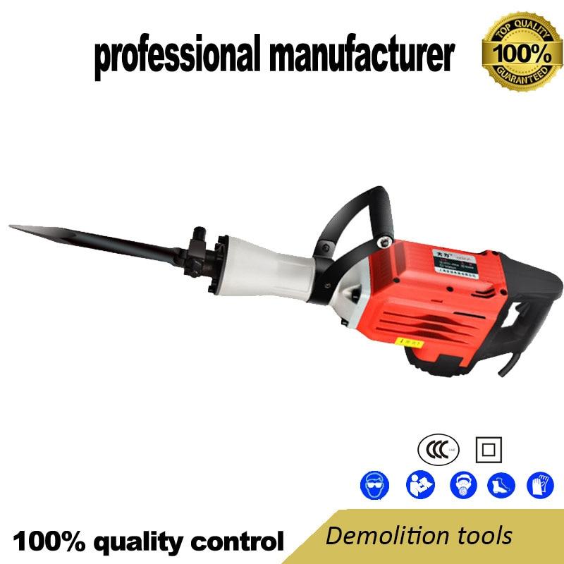 Demolition Breaker Tool Electrical Breaker Hammer For Wall Brake For Cement Broken At Good Price
