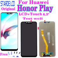 """Original New 6.3"""" For Huawei Honor Play COR L29 LCD Display Touch Screen Digitizer Assembly with Frame For Huawei Honor Play LCD