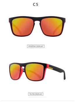 2021 Polarized Sunglasses Men's Driving Shades Male Sun Glasses For Men Retro Cheap Luxury Women Brand Designer UV400 Gafas - C5