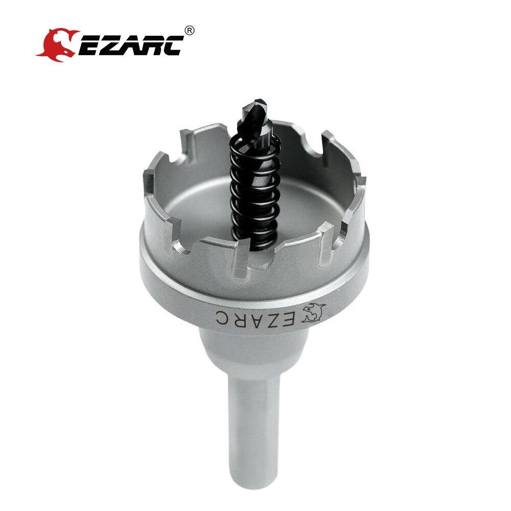 Карбидное буровое долото EZARC 35-54 мм, буровая пила для металлообработки, резак из металлического сплава нержавеющей стали, бурение толстых ст...