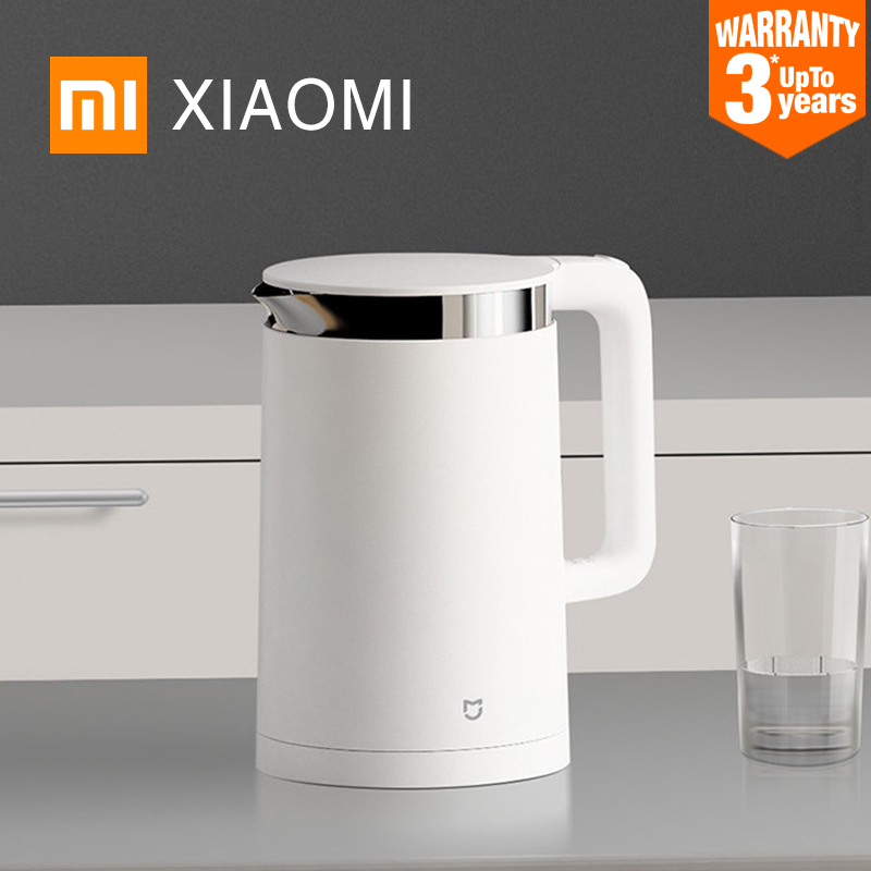 XIAOMI MIJIA Smart Constant Electric kettle Temperature Control kitchen Water kettle samovar 1.5L Thermal Insulation teapot-in Electric Kettles from Home Appliances
