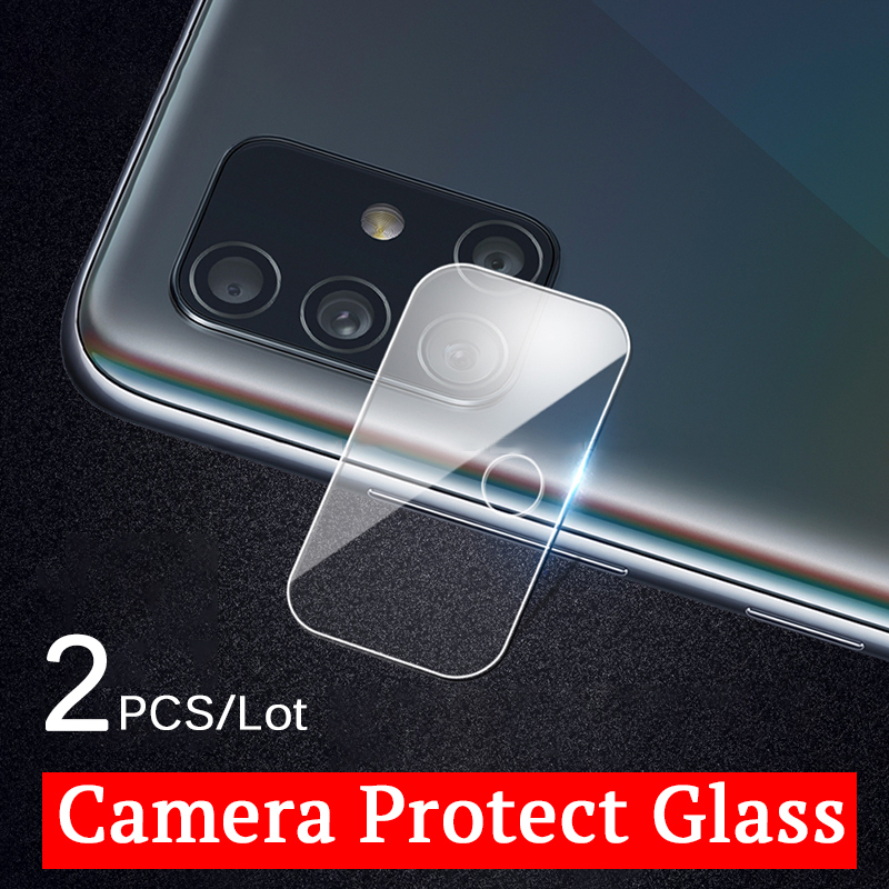 2pcs camera lens tempered glass protector for Samsung Galaxy A51 A71 A 51 51 71 a51 a71 protective film