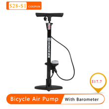 Pump for bike Bicycle Air Pump Tire Inflator With Barometer Floor Type Riding Bike High pressure Pump Cycling Accessories hot