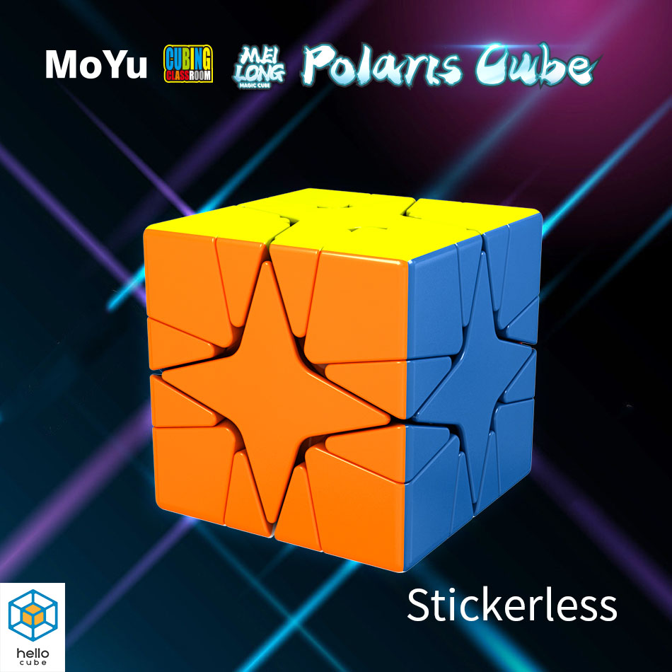 MoYu Cubing Classroom MeiLong Polaris Magic Cube 3x3x3 cubo magico Puzzle Toy for Kids Twist 3D Smooth Antistress Game Neo Cube(China)