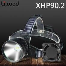 Xhp902 светодиодный налобный фонарь со встроенным охлаждением